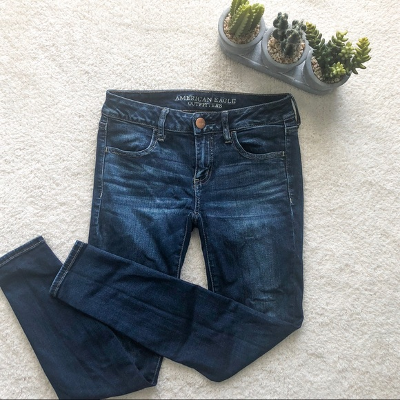 American Eagle Outfitters Denim - American Eagle | Superlow Rise Jeggings